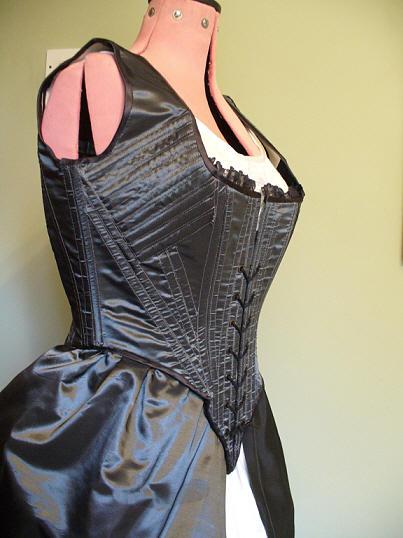 Plum Gown: Undergarments by Velven