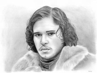 Jon Snow by Danilita