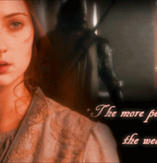 The more you love the weaker you are by HarmonyB2011