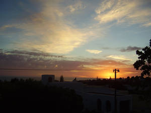 Sunset in Hermanus