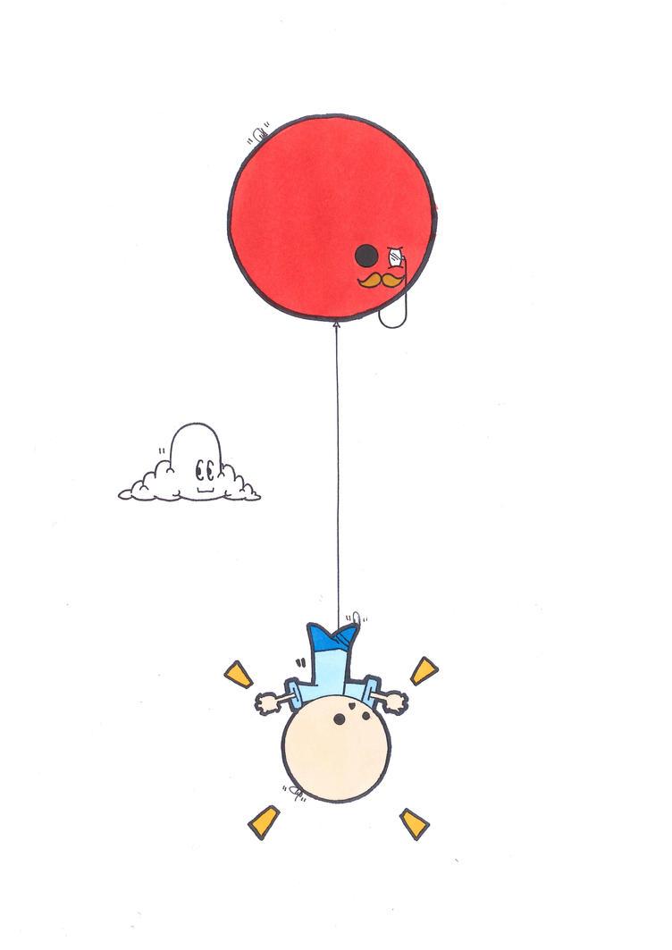 Balloon Abduction (1) by Filofax