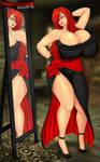 132-082015 - KristinaKatt - KattNight Dress-Mirror
