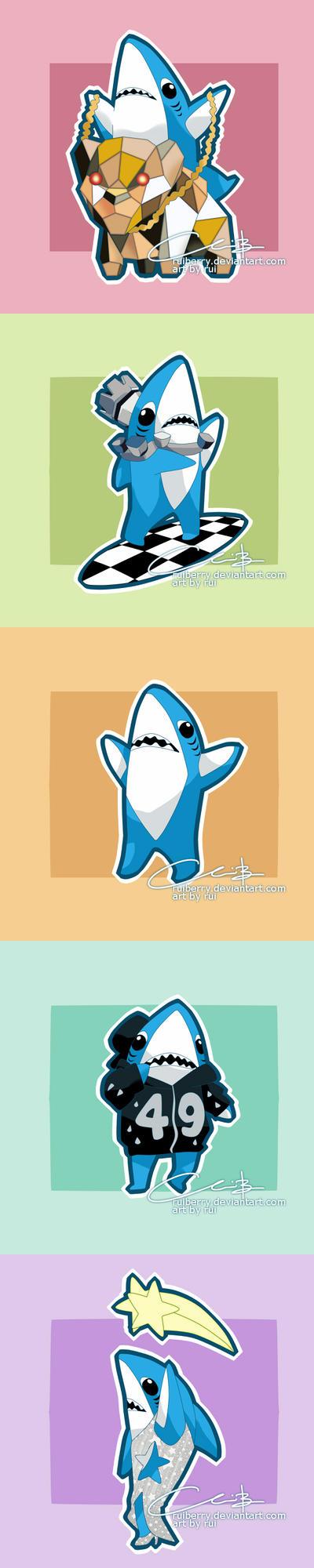 Left Shark by ruiberry