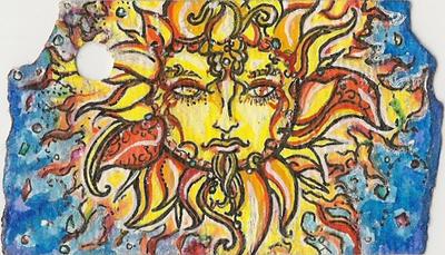 Celestial Tag (Sun side) by Keyshe54