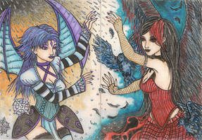 Convergence of Colors (ACEO) by Keyshe54