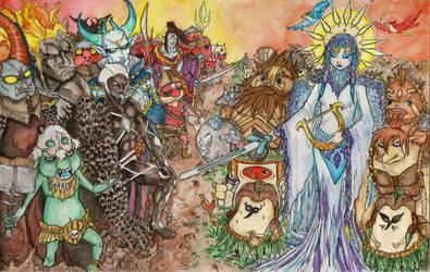Demon War(History of Hyrule) by Keyshe54