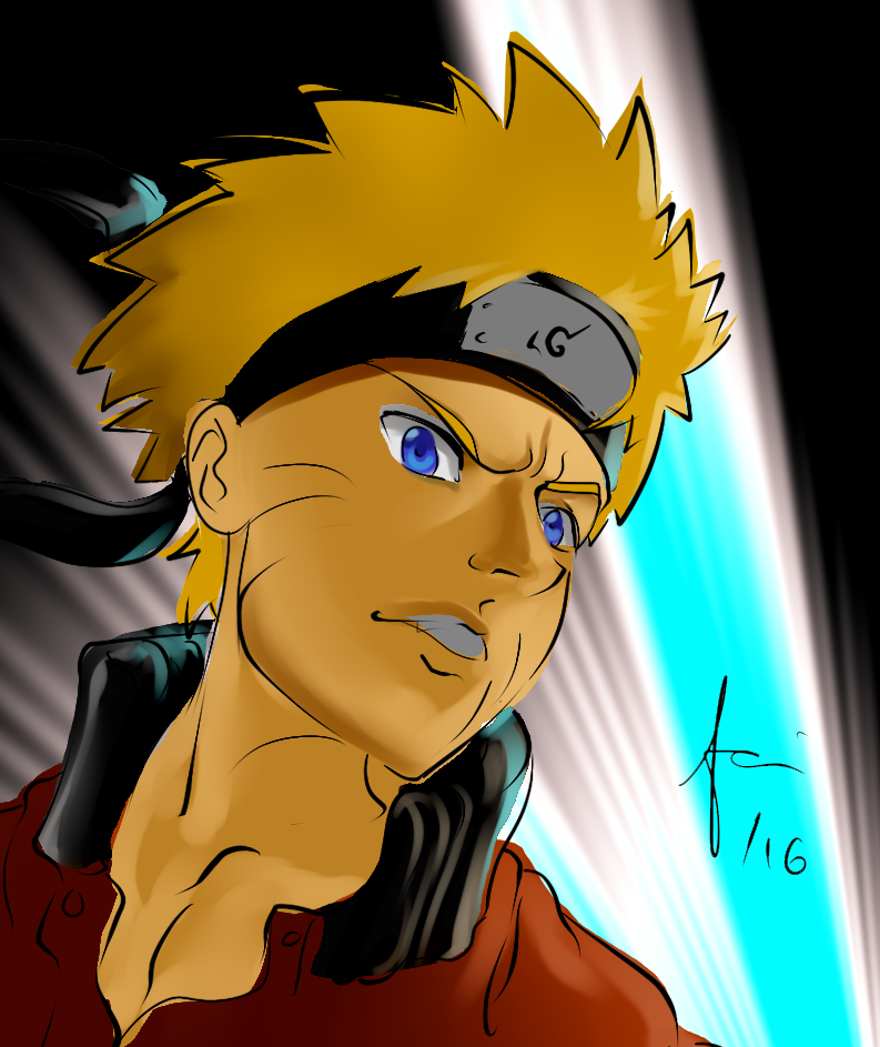 Naruto Uzumaki by Ajanime22