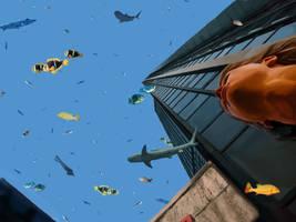 Aquarium in the Sky by OlgaAndreyeva
