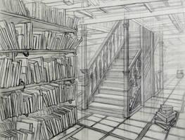 Library by OlgaAndreyeva