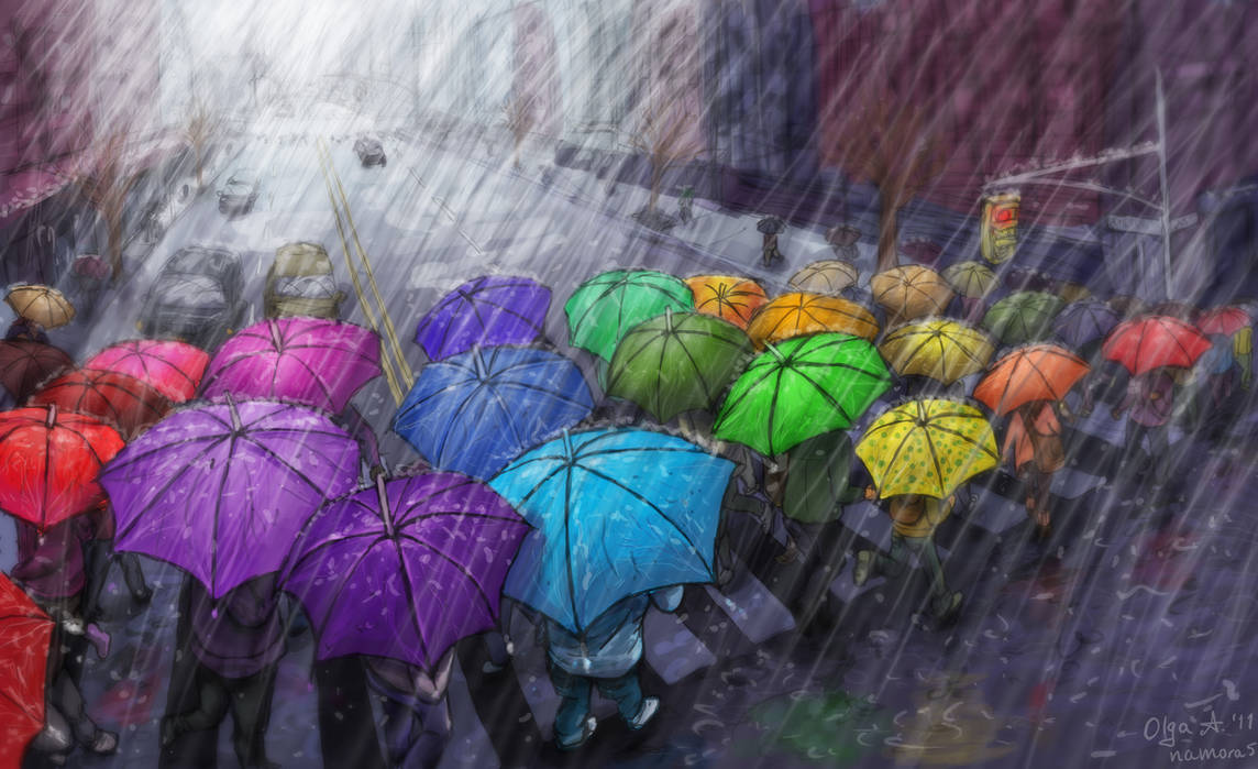 Urban Rainbow by OlgaAndreyeva