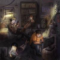 Kids These Days by OlgaAndreyeva