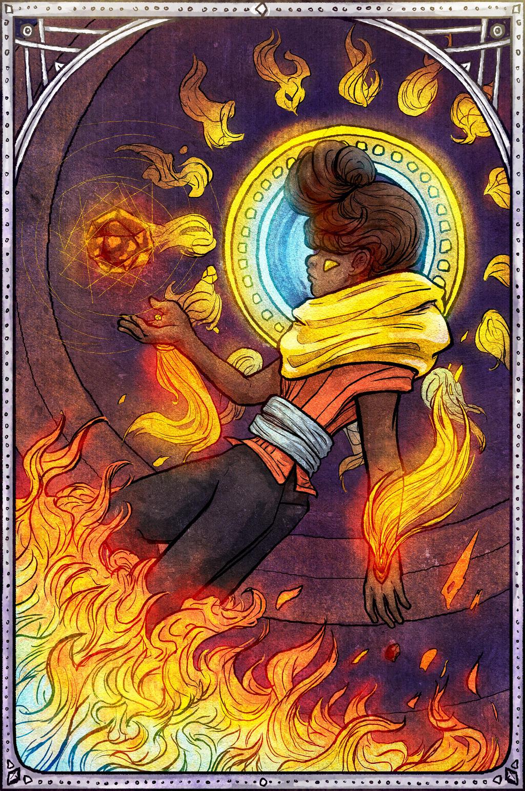 Elements - Fire by OlgaAndreyeva