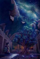 Celestial Crossroads by OlgaAndreyeva