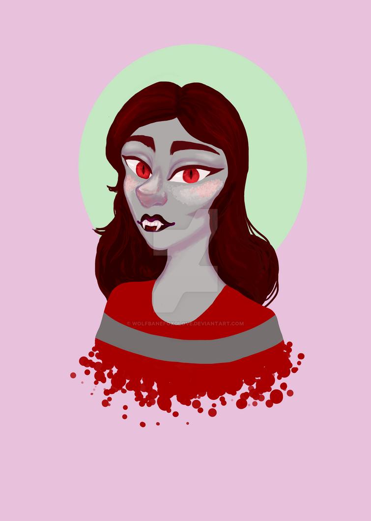 Marceline Portrait by wolfbanefoxglove