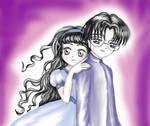 Eriol and Tomoyo
