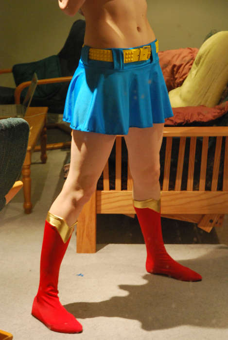 Supergirl skirt 2 point 0 by dangerousladies