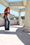 Wonder Girl in Themyscira