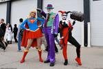 Supergirl, Joker and Harls