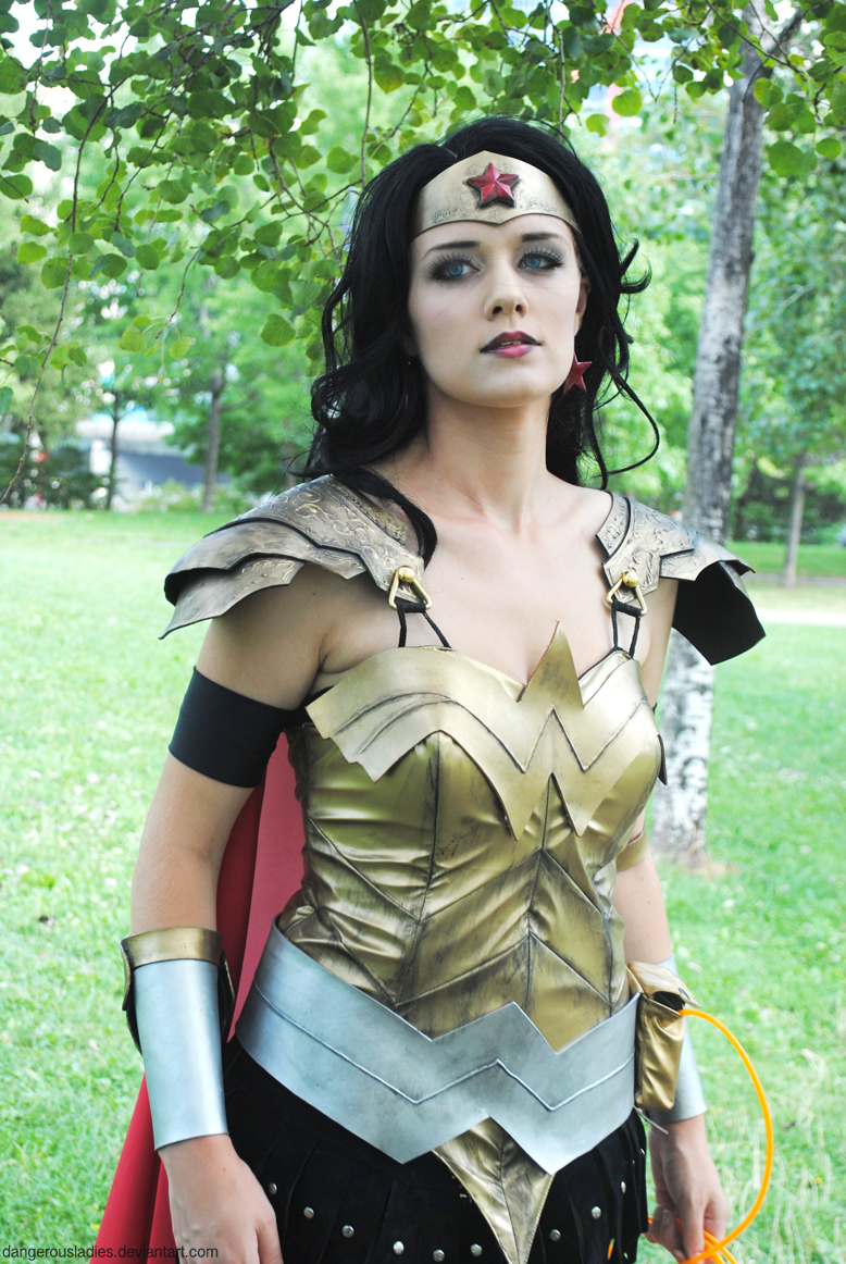 Call Me Wonder Woman by dangerousladies