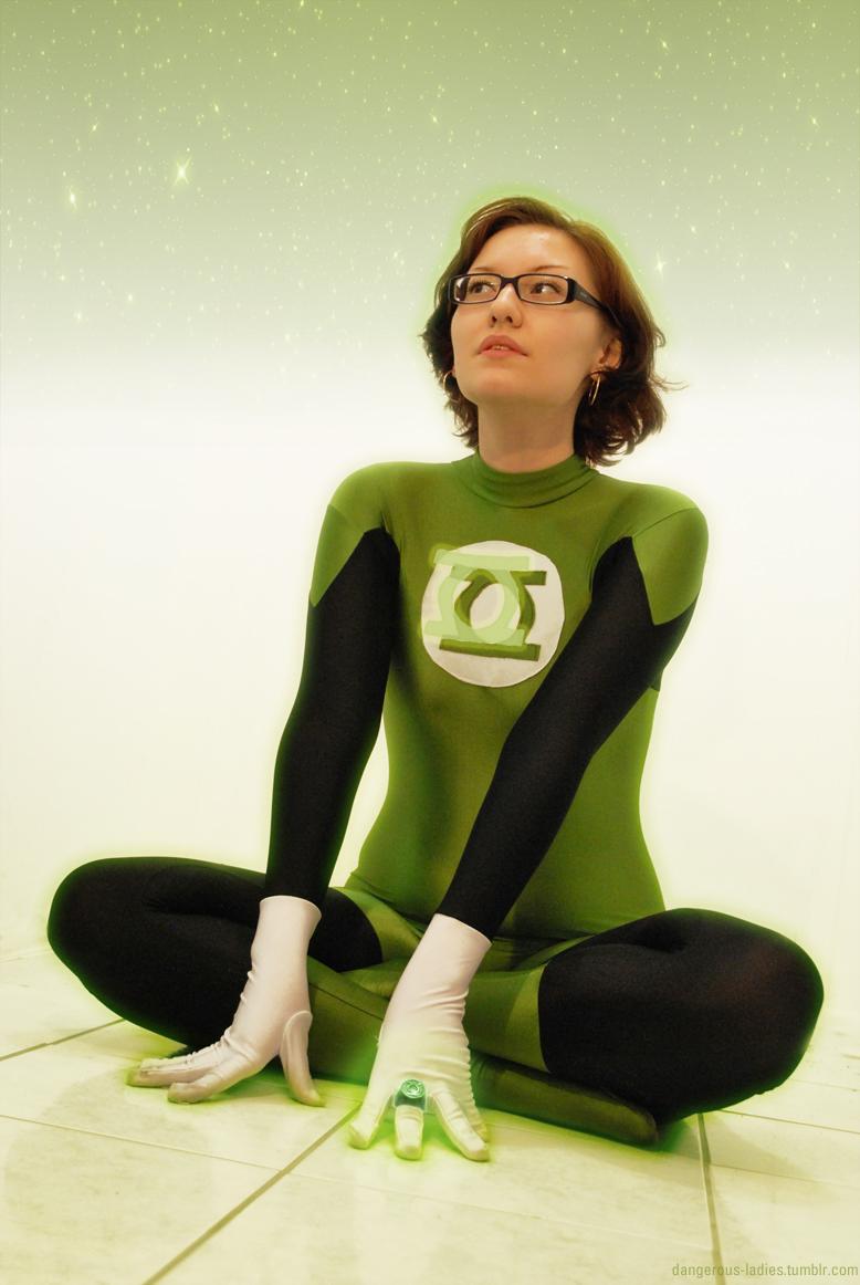 Green Lantern in Zero by dangerousladies