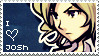 Another Joshua Stamp by Seasalticee