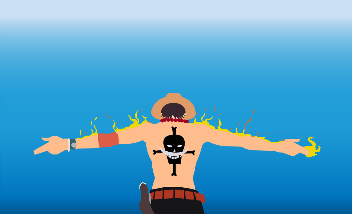 Portgas D Ace One Piece FREE 4KHD WALLPAPER By Nakagami98