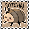 GOTCHA! Stamp by StrudelCupboard