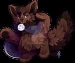 M0777: Werewolf Cupcake