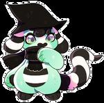 L0876: Spooky Mint Cupcake