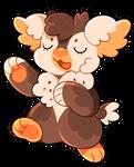 L0879: Owl Cupcake