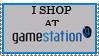 I shop at Gamestation Stamp by ferret-205