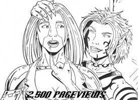2,500 Pageviews