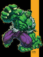 Hulk by JonBoy Meyers by MichaelWKellarINKS
