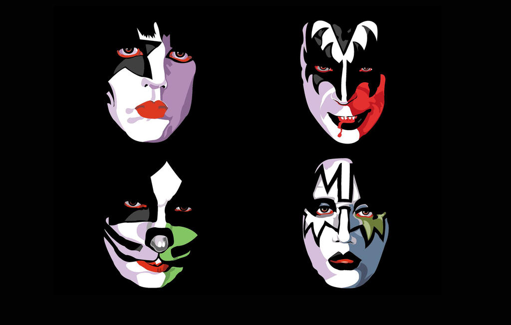 KISS Wallpaper for KISS Army by MichaelWKellarINKS