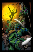 TMNT Colors by Jeff Balke by MichaelWKellarINKS