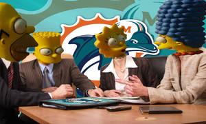 Simpsons talk Dolphins future