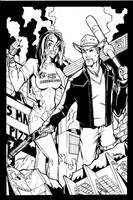 Zombieland Inks by MichaelWKellarINKS