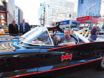 Livin' The Dream - Batmobile by MichaelWKellarINKS