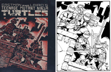 TMNT Ode to Kevin Eastman