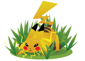 Pikachu by Drindex