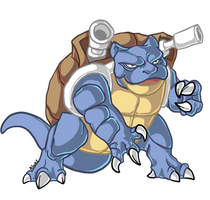 Blastoise by Drindex