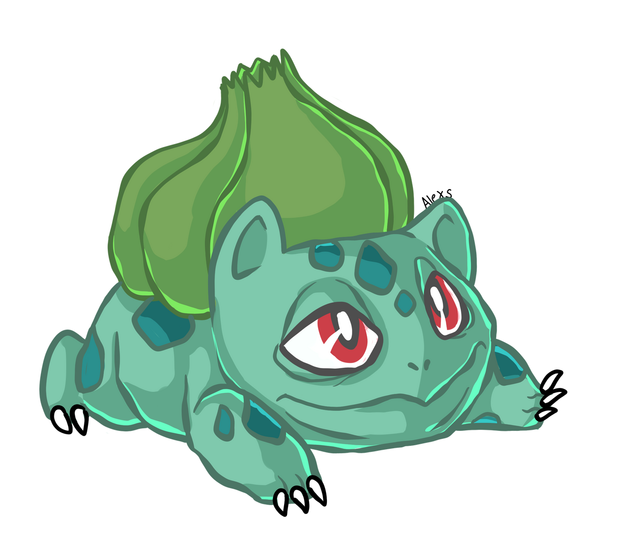 daily pokemon day 1 001 bulbasaur by drindex on deviantart