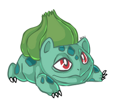 Daily pokemon Day 1 : 001 Bulbasaur by Drindex