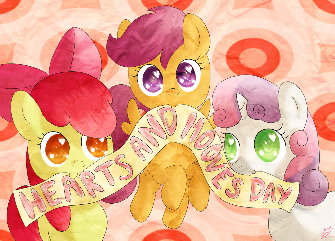 Happy Hearts and Hooves Day!