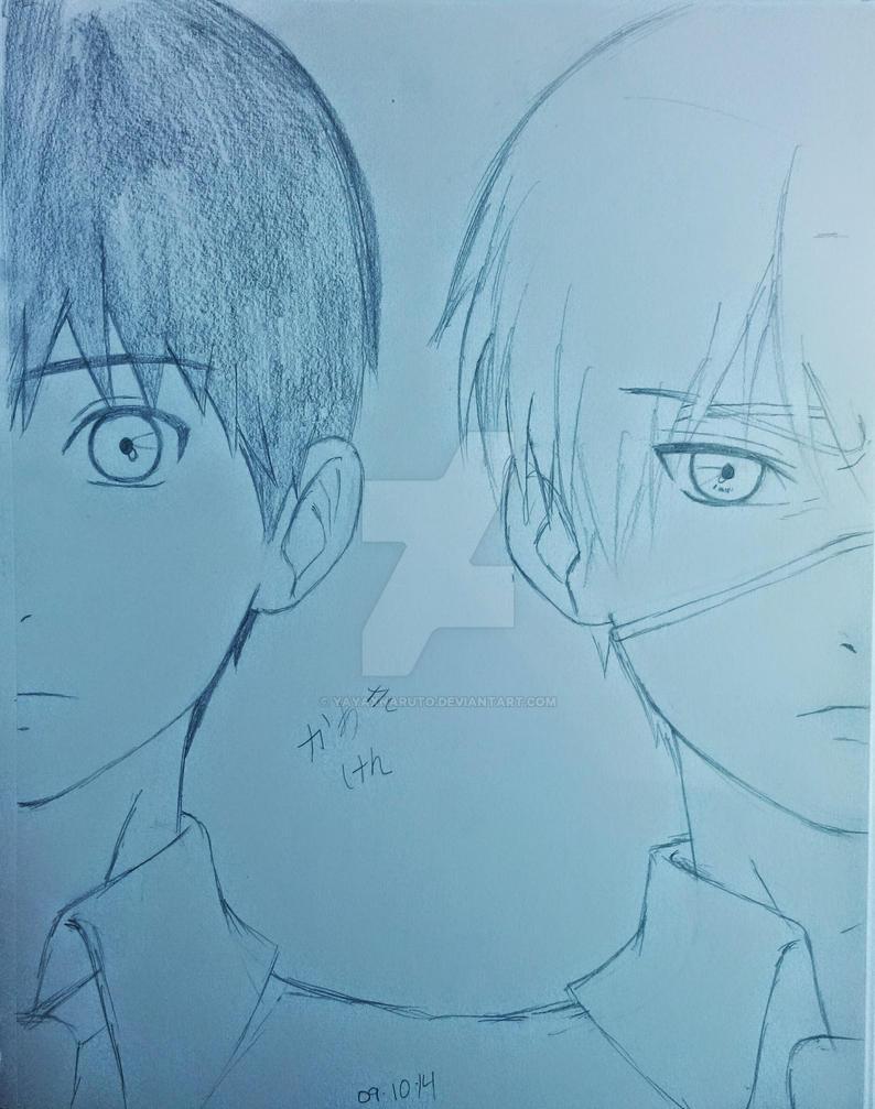 Kaneki Ken ~ Yin and Yang by YayaXNaruto