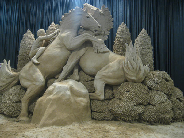 Sand Sculpture by SadisticSadist