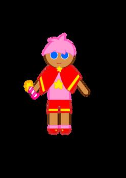 Strawberry Star Cookie