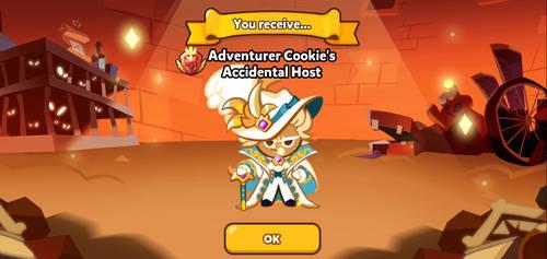 Adventurer Cookie's Accidental Host