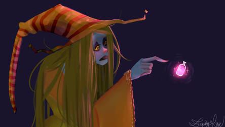 Belladonna The Sad Witch by ZephyRose075