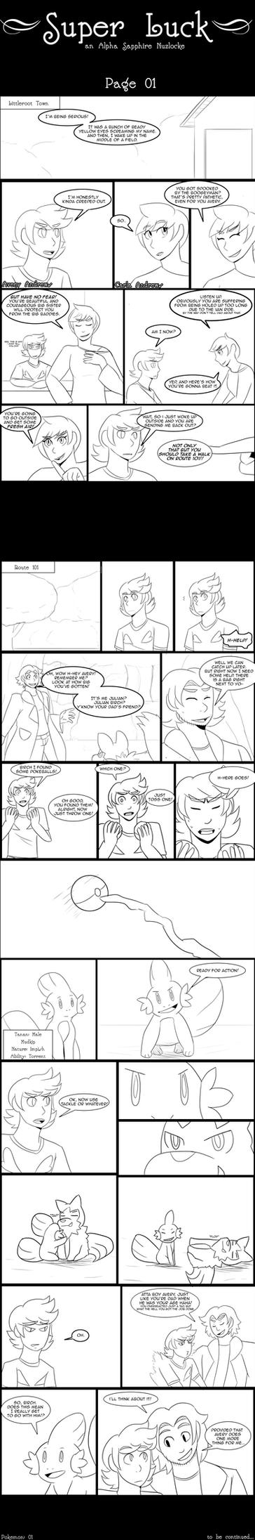 SL - Page 01 by KumaTeddi